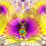 Cosmic Spiral Ascension 62 Art Print