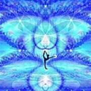 Cosmic Spiral Ascension 65 Art Print
