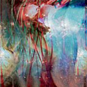 Cosmic String Art Print