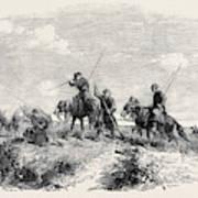 Cossacks Skirmishing Art Print