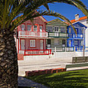 Costa Nova Portugal Art Print