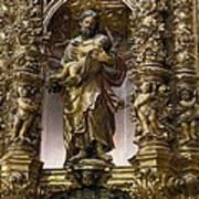 Costa, Pablo 1672-1728. Main Altarpiece Art Print