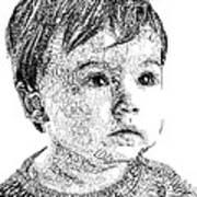 Costin Boy Art Print