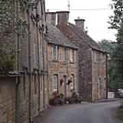 Cotswold Cottages Art Print