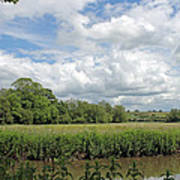 Cotswold Landscape Art Print