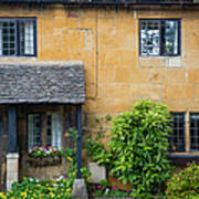 Cotswolds Cottage Art Print