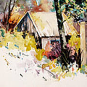 Cottage 3 Art Print