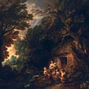 Cottage Door, C.1780 Art Print