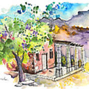 Cottage In Barca De Alva Art Print
