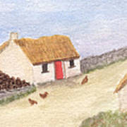 Cottage In The West Art Print