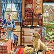 Cottage Interior Art Print