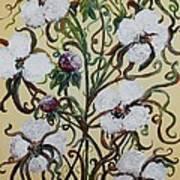 Cotton #1 - King Cotton Art Print
