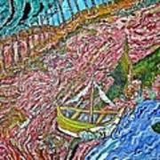 Cotton Candy Hill Art Print by Matthew  James