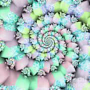 Cotton Candy I Art Print