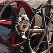Cotton Gin Gears Art Print
