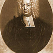 Cotton Mather 1728 Art Print