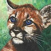 Cougar Prince Art Print