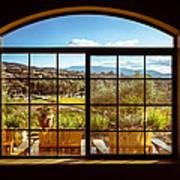 Cougar Winery View Art Print