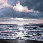 Coumeenole Beach  Dingle Peninsula  Art Print