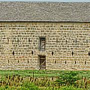 Council Grove Kansas Stone Barn Art Print
