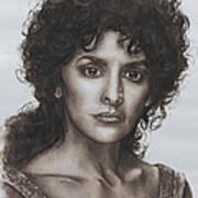 counselor Deanna Troi Star Trek TNG Art Print by Giulia Riva
