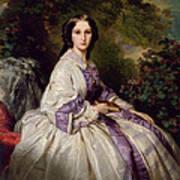 Countess Alexander Nikolaevitch Lamsdorff. Maria Ivanovna Beck Art Print