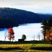 Country Autumn Art Print