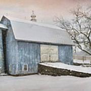 Country Blue Art Print