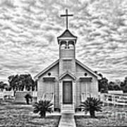 Country Chapel Art Print