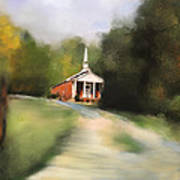 Country Church Art Print