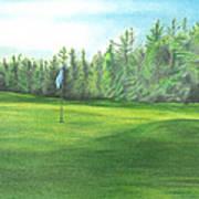 Country Club Art Print