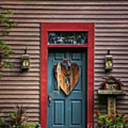 Country Door Art Print