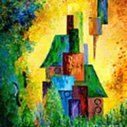 Country Estate Art Print