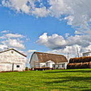 Country Farm Art Print by Frozen in Time Fine Art Photography