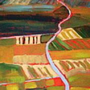 Country Fields Art Print