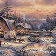 Country Holidays 2 Art Print