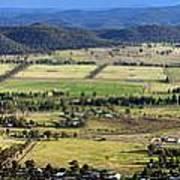 Country Panorama Art Print