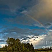 Country Rainbow Art Print