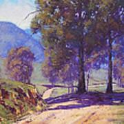 Country Road Oberon Art Print by Graham Gercken