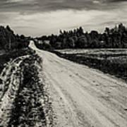Country Road Take Me Home 1. Art Print