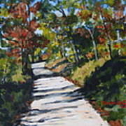 Country Road Two Art Print