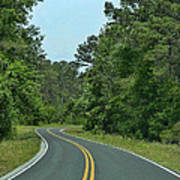Country Road Print by Victor Montgomery
