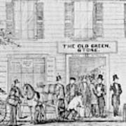 Country Store, 1847 Art Print
