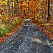 Country Super Highway Art Print