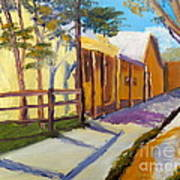 Country Village Art Print
