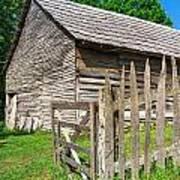 Country Weathered Barn Art Print