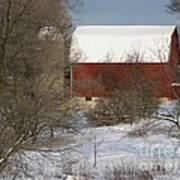 Country Winter Art Print