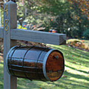 Countryside Mailbox #10 Art Print