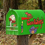 Countryside Mailbox #15 Art Print