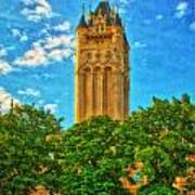 County Courthouse Art Print by Dan Quam